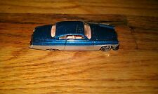 Vintage 2002 Hot Wheels Fish'D & Chip'D Silver Gray Blue Diecast Toy Car Used