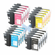 20 PACK LC65 Ink Set for Brother MFC-5890CN MFC-5895CW MFC-6490CW MFC-6890CDW