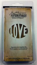 Sizzix Tim Holtz LOVE Movers & Shapers Magnetic Dies Alterations Collection