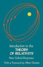 Introduction to the Theory of Relativity Dover Books on Physics