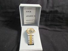J C PENNEY AWARD OF EXCELLENCE EMPLOYEE VTG  WATCH W/ CASE MADE HONG KONG