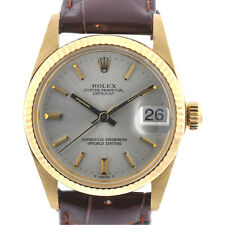 Rolex 6827 18k Yellow Gold Midsize Datejust 31mm 5 million Serial HEAD ONLY