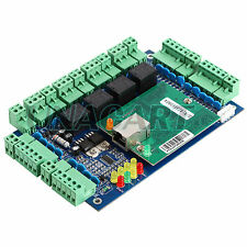 Ethernet TCP IP Network Access Control Circuit Board Panel Control For 4 Doors