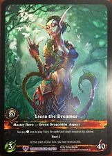 WORLD OF WARCRAFT WOW TCG EPIC EXTENDED ART : YSERA THE DREAMER ALTERNATE ART