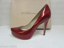 BCBG BCBGeneration Size 6.5 M  New Womens Red Heels Shoes Pumps