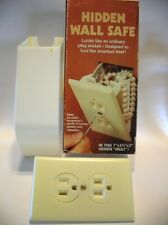 New Hidden Secret In Wall Safe Fake Plug Outlet Hide Cash Jewelry Papers Money