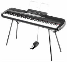 Korg SP-280 88-Key Digital Piano with Stand 30 Instrument Sounds, Hammer Action