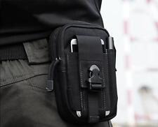 Men Women Running Travel Waist Bum Belt Bag Fanny Pack Pouch Hip Purse Military