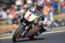 Mick Doohan firmado 12x8, Repsol-Honda, 5 veces campeón mundial de 500cc