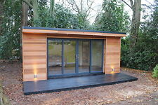 6m x 4m Garden Room / Home Office / Studio / Summer House / Log Cabin / Chalet