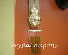 FENG SHUI - 6 ROD WU LOU WITH MANTRA WIND CHIME (GOOD HEALTH & LONGEVITY)
