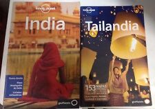 Guia Lonely Planet India Edición  2012+ Tailandia Edición 2010