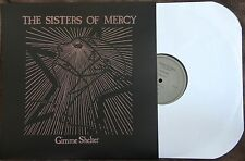 "Sisters Of Mercy ""Gimme Shelter"" BBC import lp 500 COPIES POSTER SLEEVE!! Goth"
