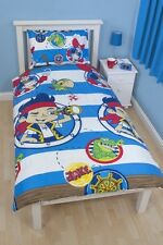 JAKE AND THE NEVERLAND PIRATES DOUBLOONS SINGLE DUVET QUILT COVER new gift