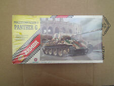 1/72 scale AHM Armor Panzerkampfwagen V Panther G Model Kit