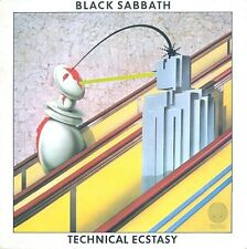 BLACK SABBATH Technical Ecstasy Vinyl Record LP Vertigo 9102 750 1976 1st Press