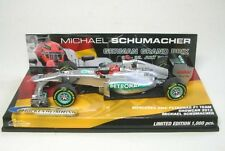 MERCEDES AMG f1 No. 7 M. schumacher Hockenheim showcar 2012