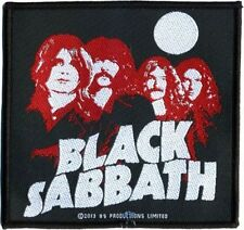 "Black Sabbath "" Completo Moon Nastro"" Toppa/Cucire-su Patch 602317 #"