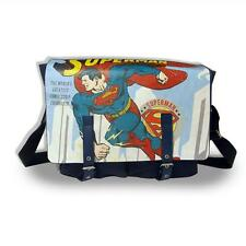 SUPERMAN SATCHEL BAG MESSENGER DC OFFICIAL GOOD QUALITY BRAND NEW WITH TAGS