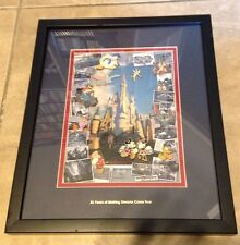 Walt Disney World 35th Anniversary 11 Pin Framed Limited Edition Set Mickey Mous