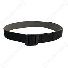 REVERSIBLE DUTY BELT - BLACK/FOLIAGE - Military Combat Canvas Hunting Fishing