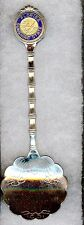 #136) SILVER PLATED TEA SPOON FLORIDA SUNSHINE STATE AMERICA UNITED STATES