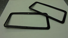 Triumph TR7 TR8 ** DOOR HANDLE GASKET - PAIR ** NEW ORIGINAL - PLASTIC!!!