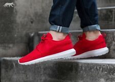 NIKE ROSHE NM FLYKNIT Running Trainers Shoes Gym Casual - UK 10 (EUR 45) Uni Red
