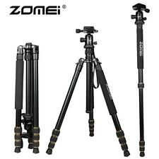 ZOMEI Q666 Portable Camera Aluminium Tripod Monopod with Ball Head for DSLR