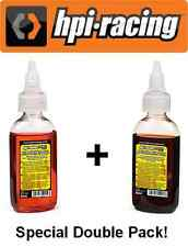 HPI Racing Nitro RC Car Engine Air Filter & After Run Oil 50ml Double Pack!
