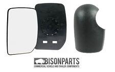 *FORD TRANSIT MK6 DOOR MIRROR GLASS & COVER PASSENGER SIDE UT6713L & UT7713LC