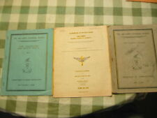 Vintage WW2 Era Air Corps Manuals-Books-Charts-1938-39 Estate Junk Drawer Lot