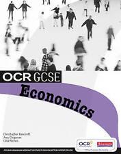 New OCR GCSE Economics Student Book. Bancroft Chapman Heinemann. 9780435849054