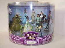 Disney Princess & the frog Deluxe figurine set Collectible