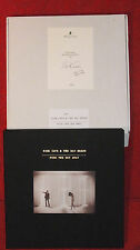 "NICK CAVE & THE BAD SEEDS ""Push The Sky Away"" Limited Box #206 signed"