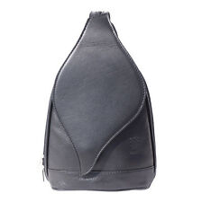 Borsa a Zainetto Cuoio Pelle Leather Backpack Purses Italian Made In Italy 2015k
