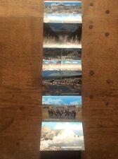Set 6 Colour Photographs Postcard Lettercard WESTON SUPER MARE Somerset