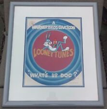 """Bugs Bunny """"What's Up Doc?"""" Limited Edition Animation Cel #358/750 Hand Signed"""