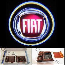 NO FORO!!! Luci proiettori Led portiera logo FIAT 3D luce cortesia led COPPIA