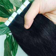 """7A 20pcs/set Skin Weft PU Tape in Omber Remy 100% Human Hair Extensions 16""""-26"""""""
