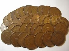 Australian Penny / Pennies Bulk Mini Set Lot 20 Coins 20 Different Dates inc KGV