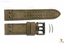 Luminox 1880 1893 Atacama 26mm Brown Leather Watch Band Strap w/2 Pins