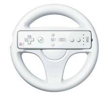 Nintendo Wii Control Remoto Mario Kart Juego Racing Volante (Blanco)