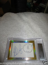 Nolan Ryan Larry Dierker 2014 Leaf Masterpiece Cut Signature signed auto 1/1 JSA