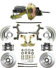 "1964-1967 Chevelle 2"" Drop Power Disc Brake Kit with 9""  Power Brake Booster"
