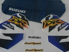 SUZUKI DR 350 SE DR350SE, KIT decals & Seat Cover