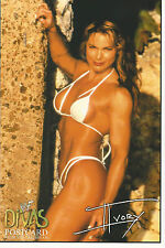 WWE WWF Official Postcard Ivory Close up (2001)