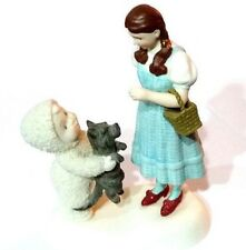 DEPARTMENT 56 SNOWBABIES WIZARD OF OZ DOROTHY IT'S TIME TO GO HOME TOTO FIGURINE