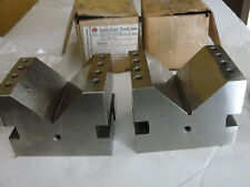 "Suburban 4"" V-blocks, New, VB-334, 90 deg. Pair"