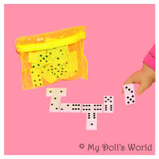 DOMINOES! FIT MY AMERICAN GIRL DOLL MARISOL~REBECCA~MARYELLEN! STOCKING STUFFER